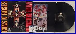 Slash Signed Guns N Roses Appetite For Destruction Vinyl Record Album Beckett