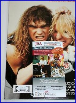Slayer Signed Reign In Blood Lp Vinyl Record Album Kerry King Tom Araya +jsa Coa
