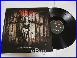 Slipknot Corey Taylor Autographed Signed Vinyl Album With Signing Picture Proof