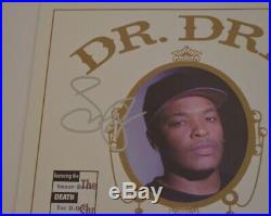 Snoop Dogg Signed Autographed Dr. Dre The Chronic Vinyl Record Album PSA/DNA COA