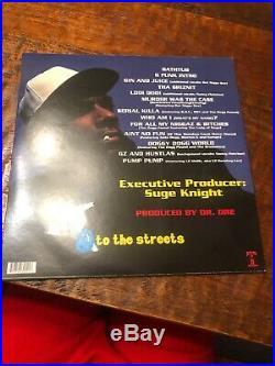 Snoop Dogg Signed Doggystyle LP Record Album Vinyl PSA DNA COA Auto