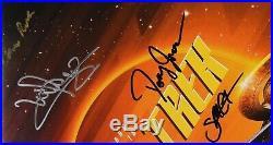 Star Trek Discovery Cast Signed JSA Autograph Soundtrack Album Record Vinyl 10