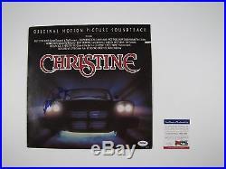 Stephen King PSA Signed Autograph Album Original Christine Soundtrack Vinyl