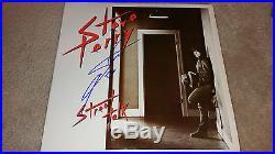 Steve Perry Street Talk autograph signed vinyl LP album Journey