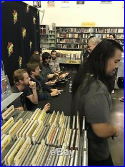 Sturgill Simpson signed Sound & Fury vinyl record album anime Netflix proof CD