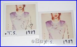 TAYLOR SWIFT signed (T. S. 1989) Record album LP VINYL WithCOA