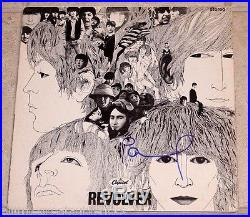 THE BEATLES PAUL MCCARTNEY SIGNED REVOLVER ALBUM VINYL LP WithCOA PROOF WINGS SOLO