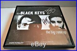 THE BLACK KEYS Big Come Up SIGNED + FRAMED Vinyl Record Album