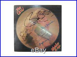 THE CARS signed lp vinyl album SHAKE IT UP by 5 members RIC OCASEK BEN ORR Cover