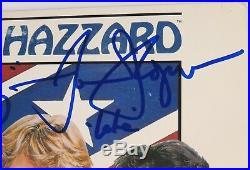 THE DUKES OF HAZZARD Signed Autograph Album LP Vinyl by 3 Schneider, Wopat, Bach