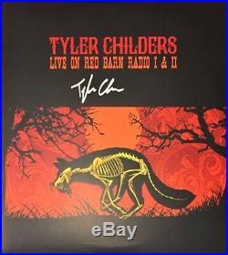 TYLER CHILDERS Auto Signed LIVE ON RED BARN RADIO 1 & 2 Vinyl LP Album withCOA