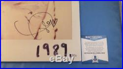 Taylor Swift Signed 1989 LP Vinyl Record Album Cover BAS COA Autograph