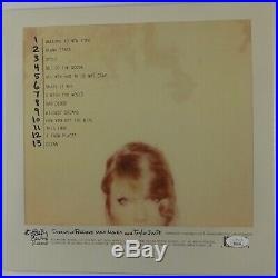Taylor Swift Signed Autograph JSA 1989 Album LP Vinyl Record