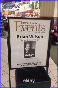 The BRIAN WILSON Anthology HAND SIGNED Vinyl LP Beach Boys album + Proof Photos