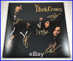 The Black Crowes Signed Autographed Shake Your Money Maker Vinyl Album PROOF COA