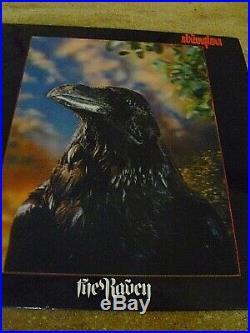 The Stranglers Rare Fully Signed'the Raven' 3d Vinyl Album