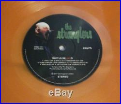 The Stranglers Rattus reLIVEd signed orange vinyl double album Ltd Edition punk
