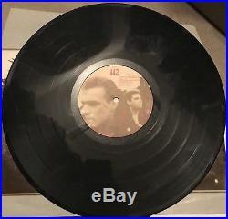 U2 Signed Vinyl Album x3 JSA LOA Bono Edge And Adam Unforgettable Fire