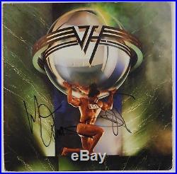 Van Halen Sammy Hagar M Anthony Signed Autograph JSA Album Vinyl Record 5150