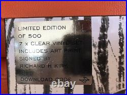 Very Limited Signed Cabaret Voltaire Methodology 74/78 Attic Tapes Clear 7lp Set