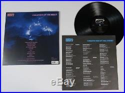 Vinnie Vincent KISS Signed Autograph Creatures Of The Night Album Vinyl LP