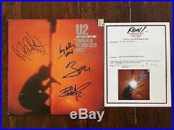 Vinyl LP Album'Under a blood red sky' Signed by All 4 U2 Members + EPP COA